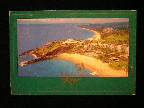 Aerial View, Sheraton Maui, Hawaii 1980s Postcard